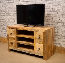 MANT-128 STV 100CM TV CABINET WITH 4 DRAWERS